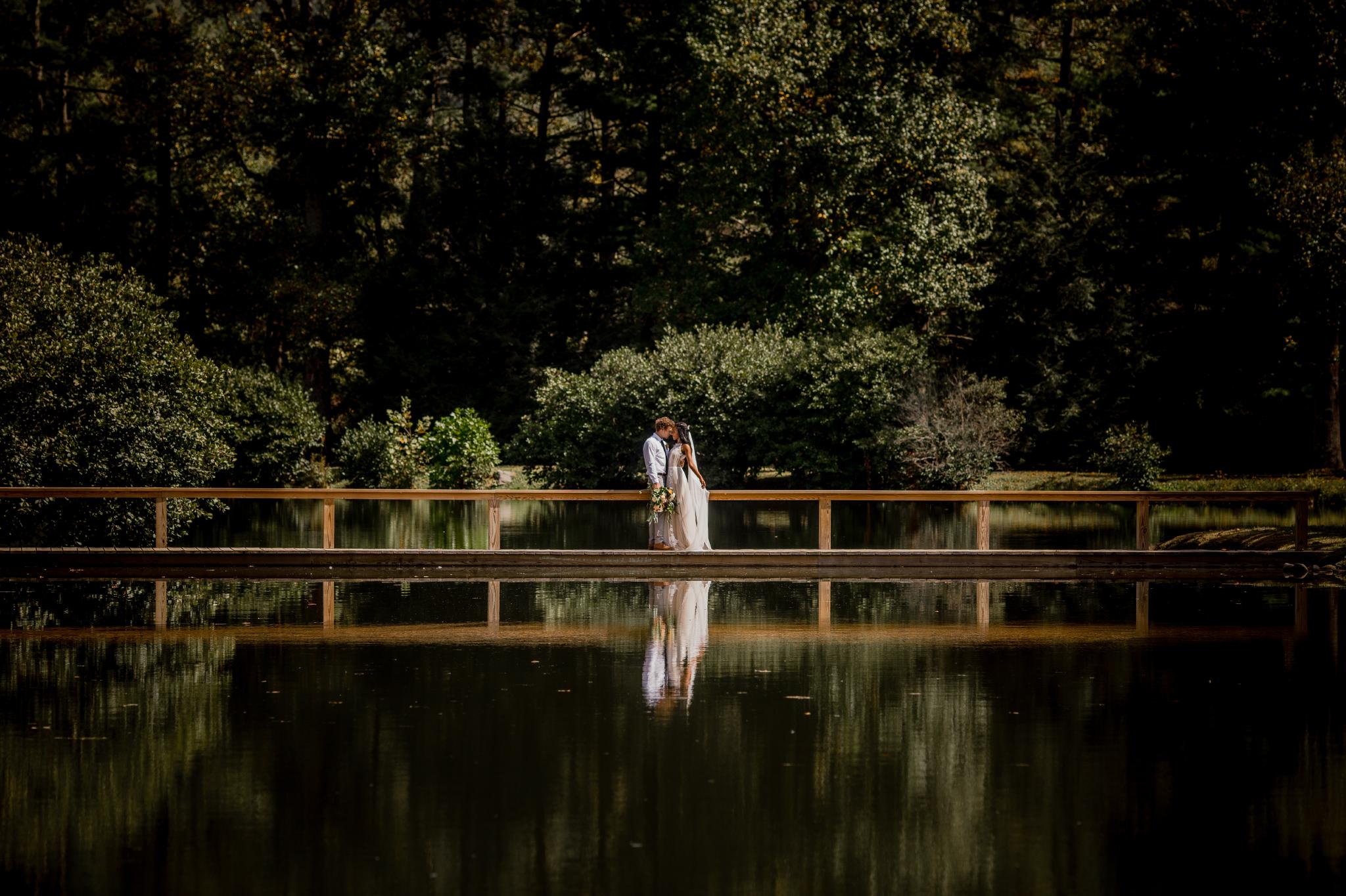san diego wedding   photographer | couple on lake walkway