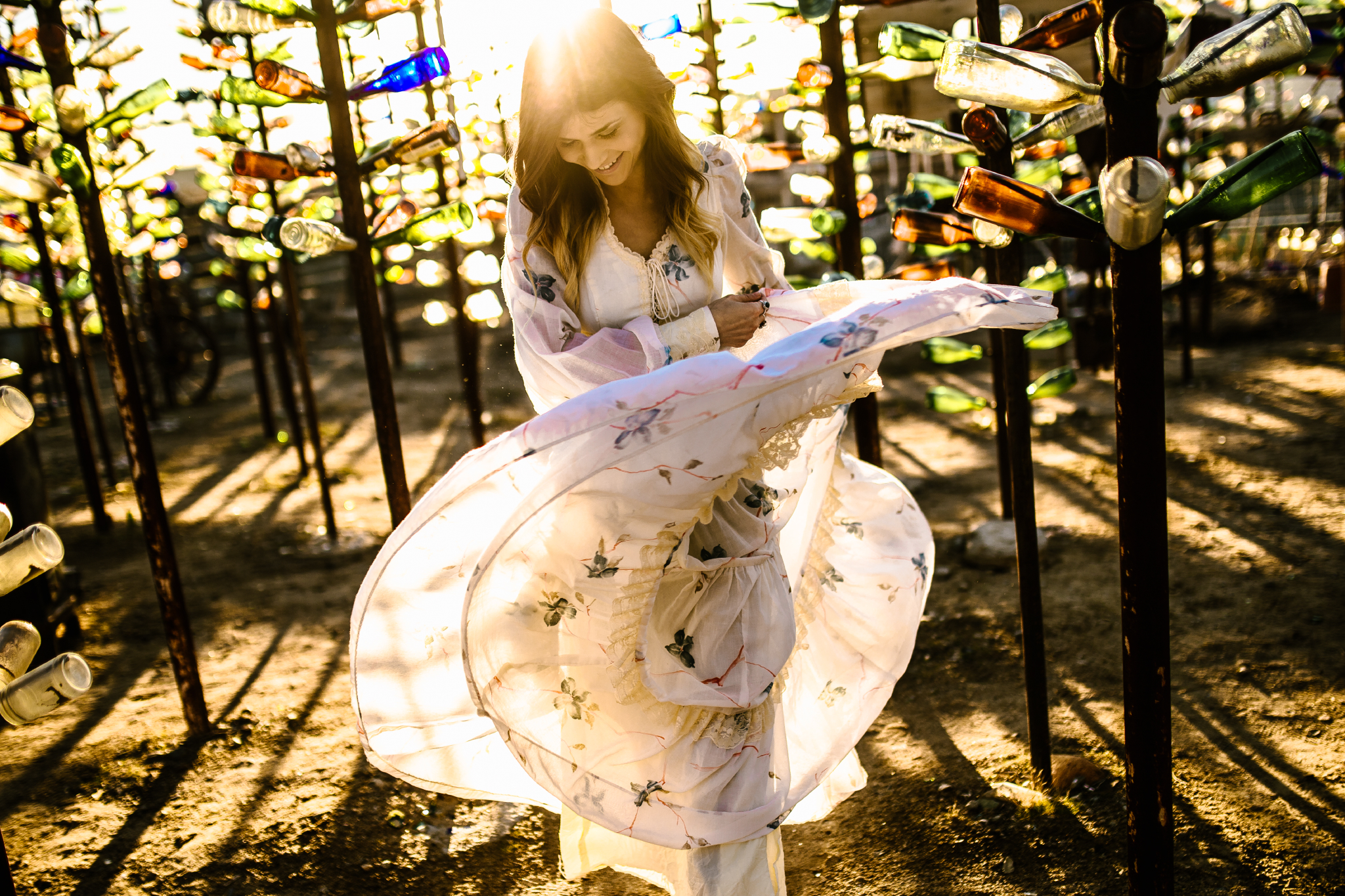 san diego wedding   photographer | woman flowy skirt