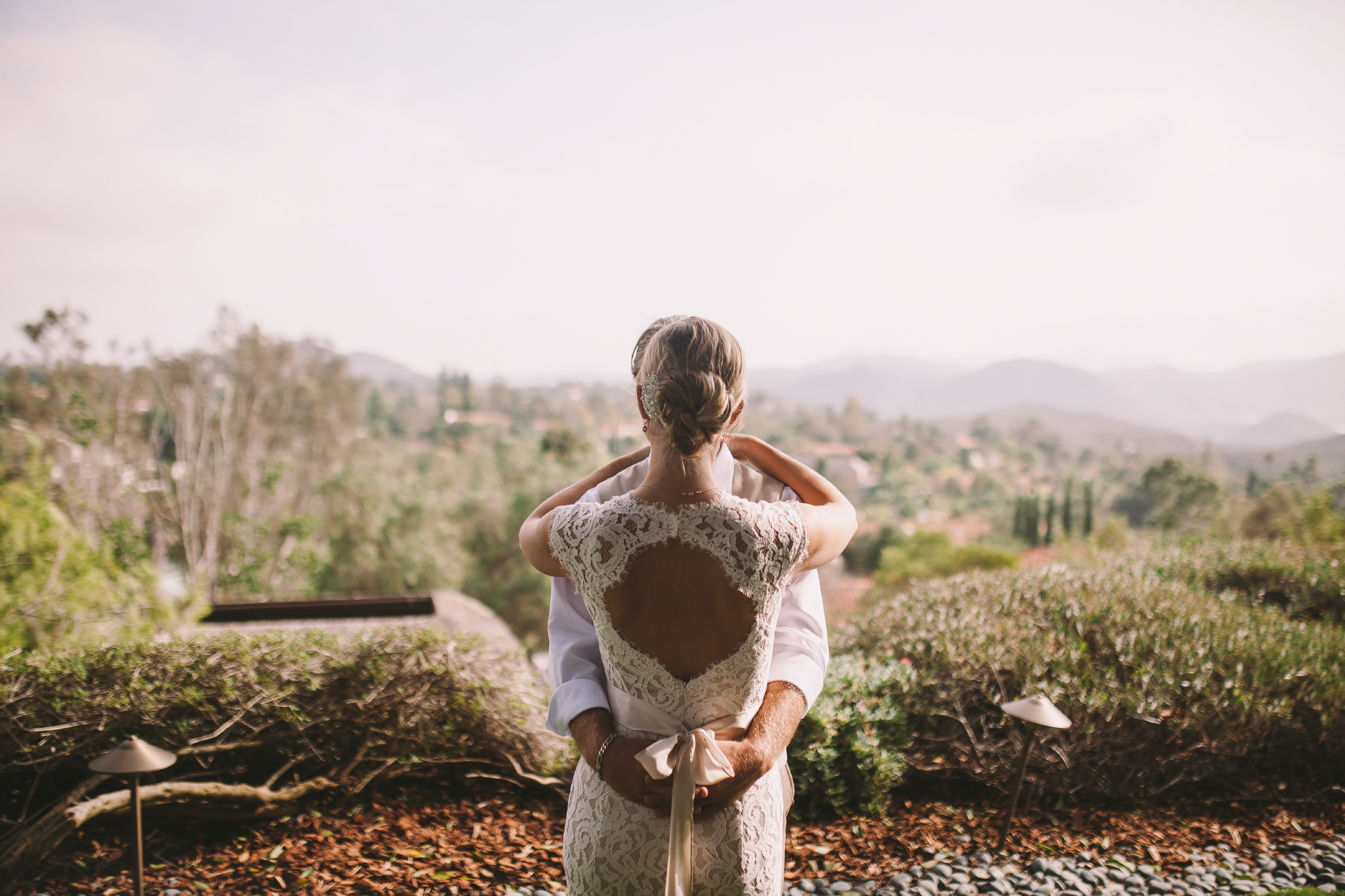 san diego wedding   photographer | couple holding each other with woman in front