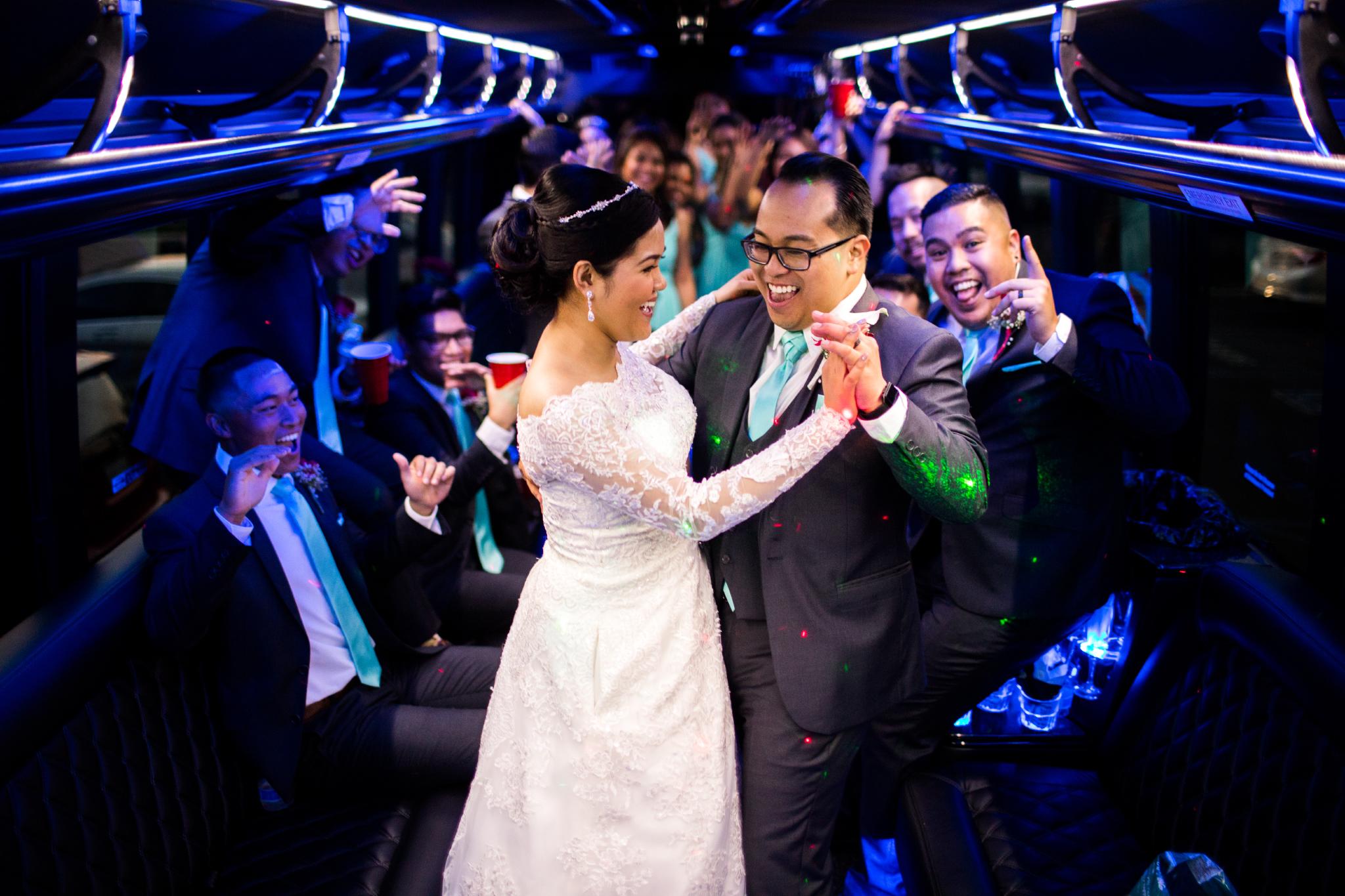 san diego wedding   photographer | couple dancing in train