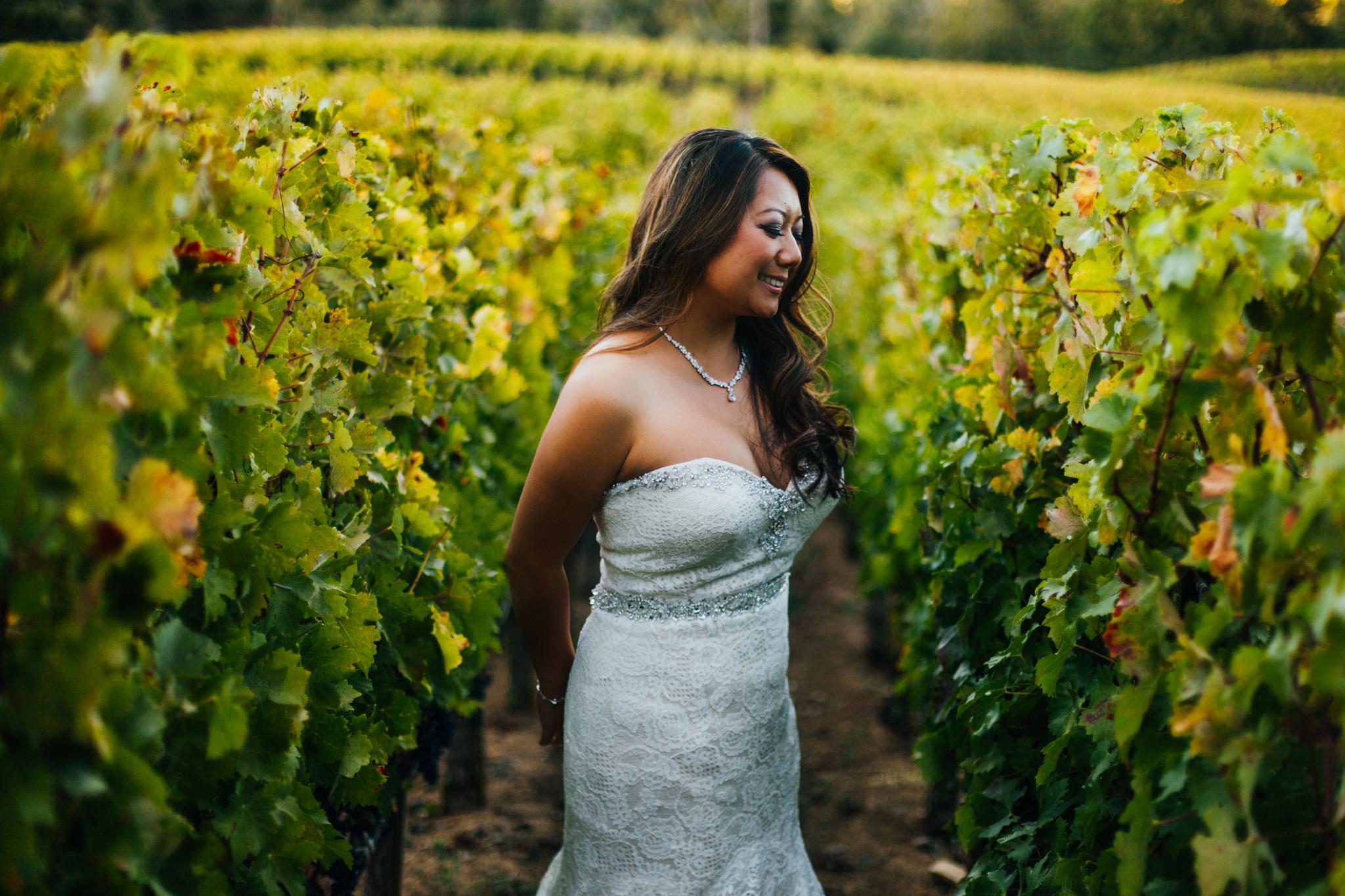 san diego wedding   photographer | woman in plantation