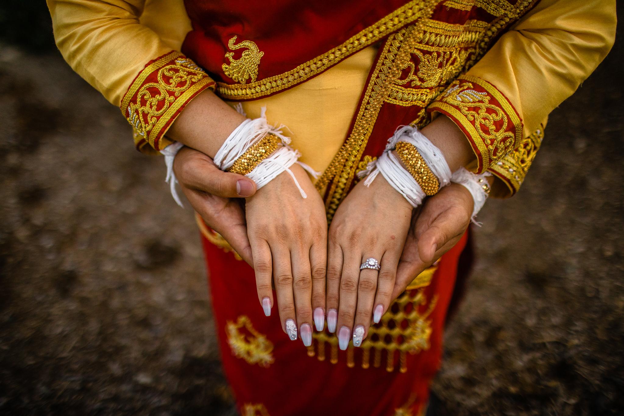 san diego wedding   photographer | hands wearing ornaments