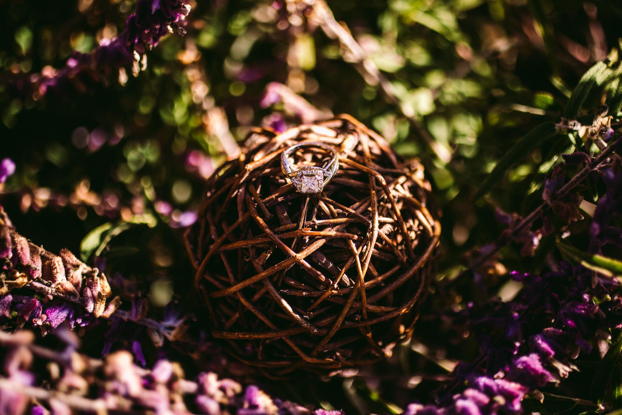 san diego wedding   photographer | ring on ball of twine