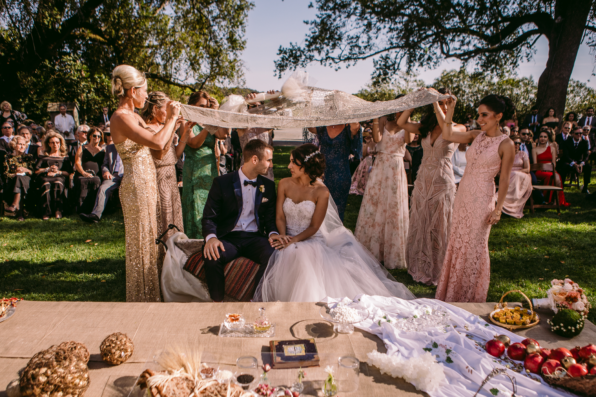 san diego wedding   photographer | couple under cloth