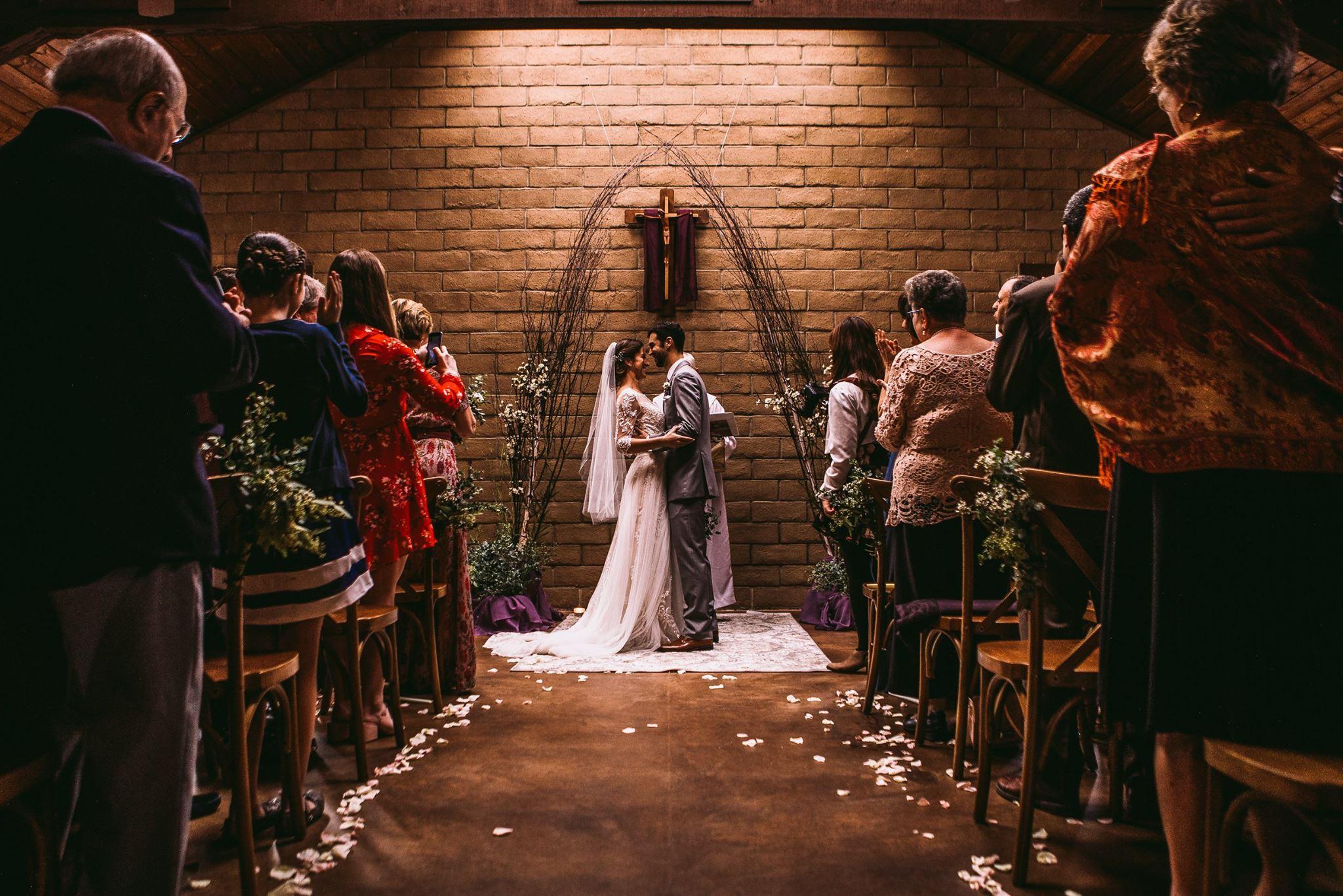 san diego wedding   photographer | couple down the aisle