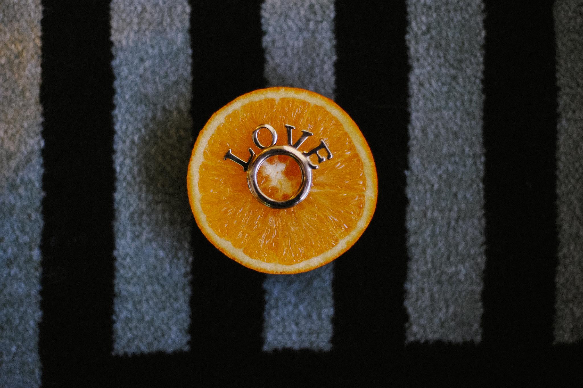 san diego wedding   photographer | ring on top of orange