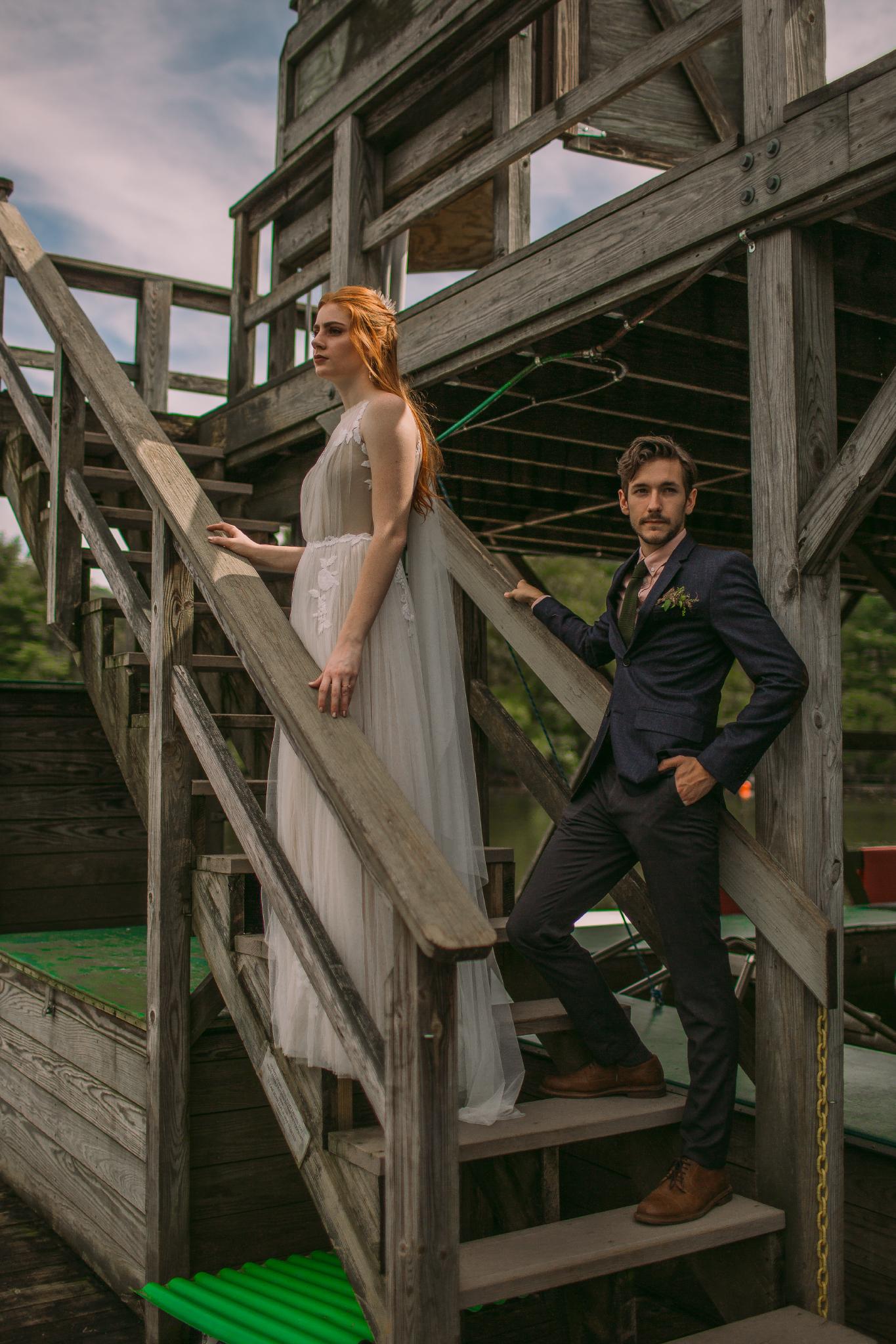 san diego wedding   photographer | couple on stairs