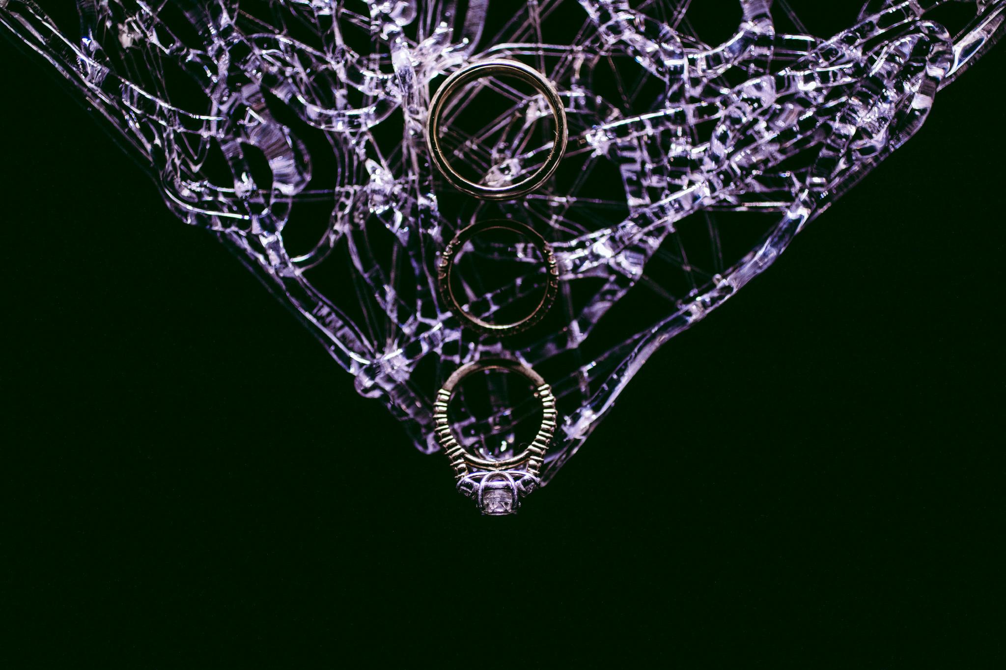 san diego wedding   photographer | 3 rings arranged in vertical order