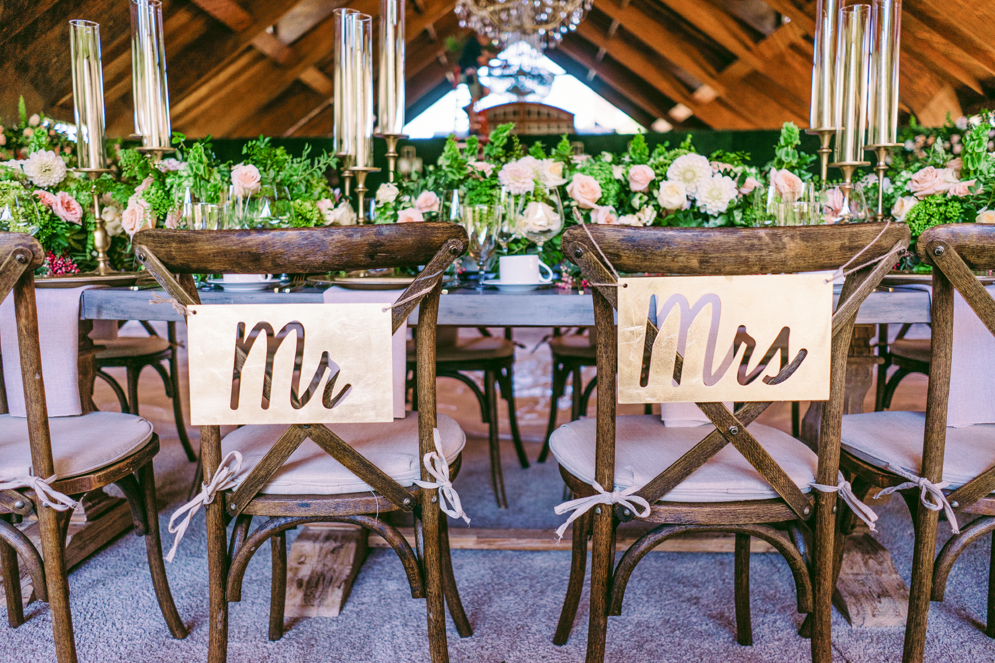 san diego wedding   photographer | picture of married couple's chairs from behind
