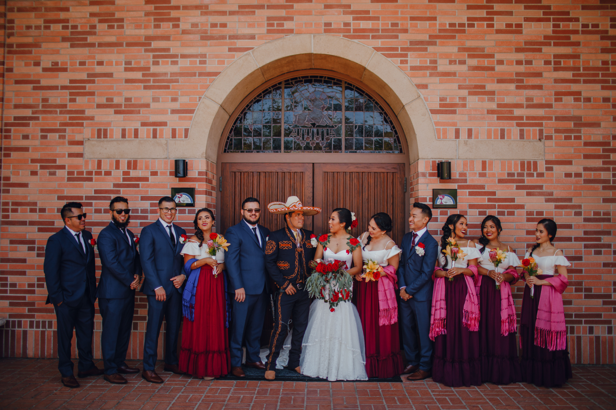 San Diego Wedding Photographer | bridal party candid moment