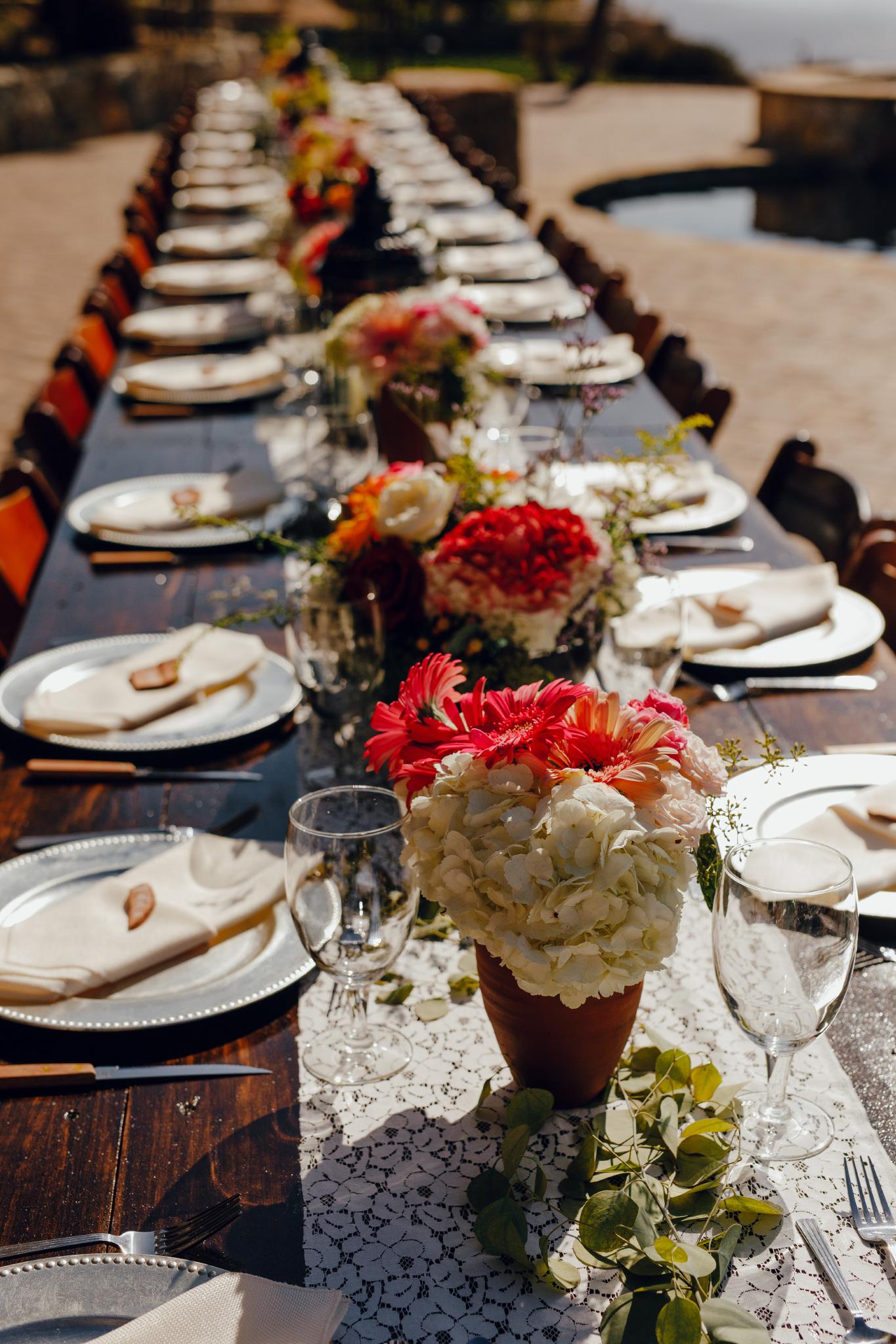 San Diego Wedding Photographer | florals at a Montana Cielo wedding