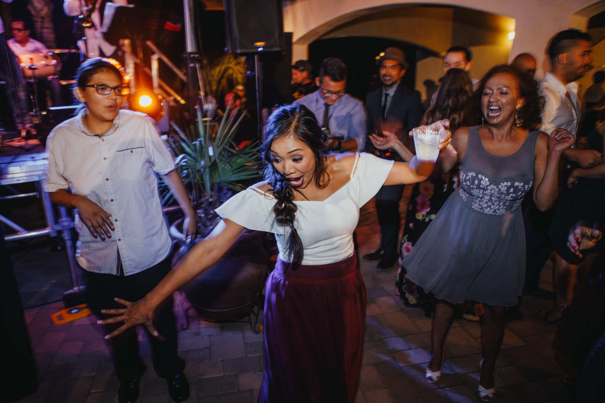 San Diego Wedding Photographer | maid of honor dancing