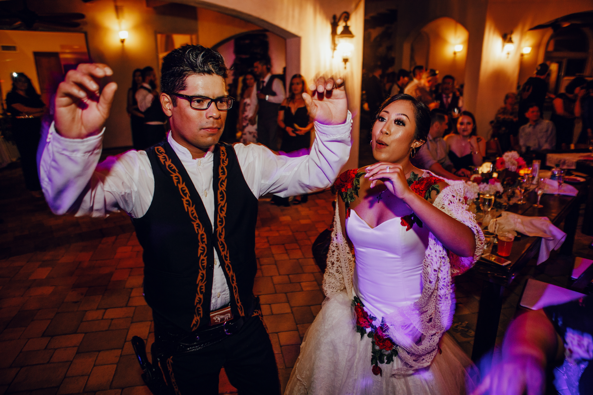 San Diego Wedding Photographer | bride and groom dancing