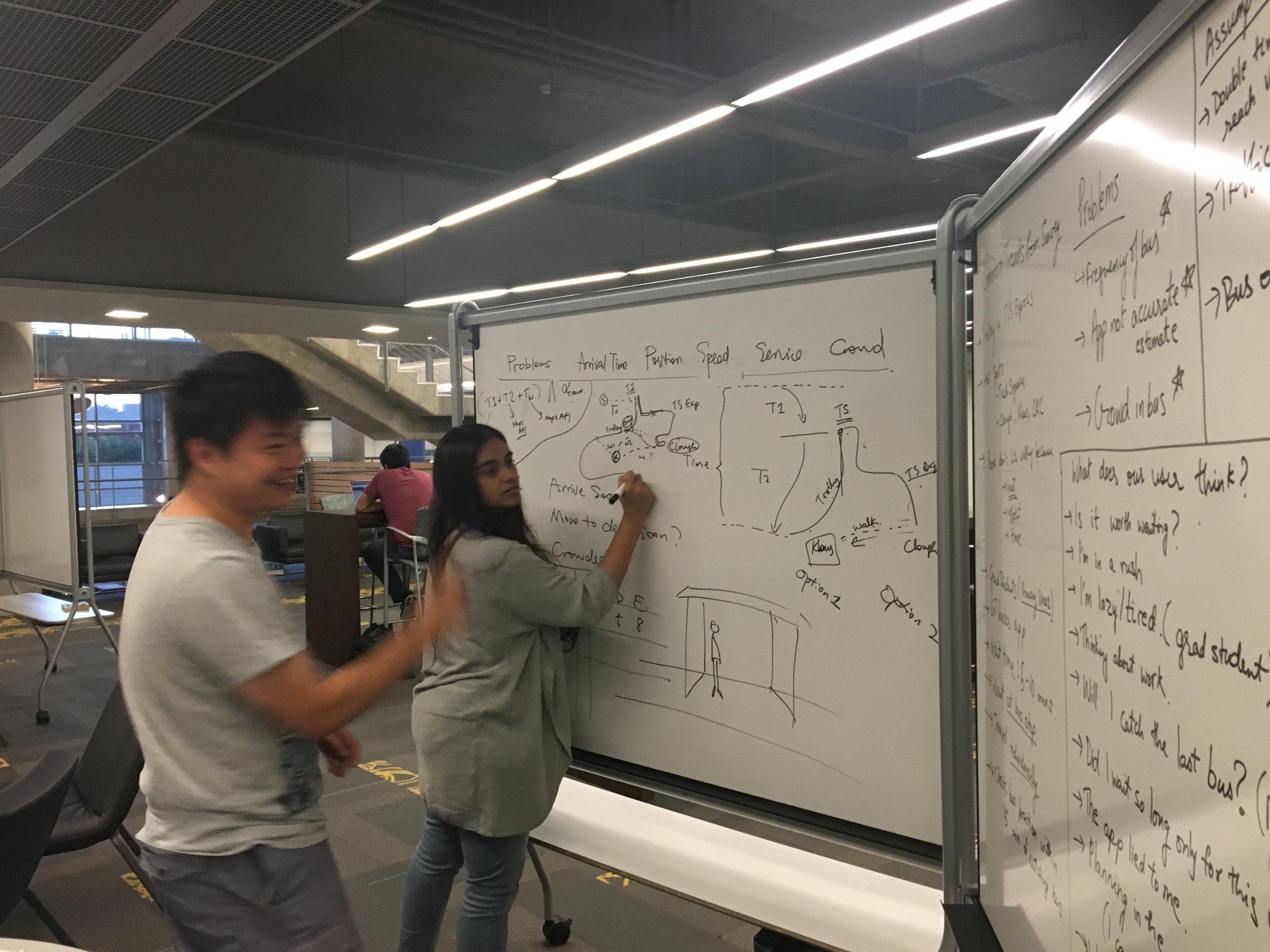 Whiteboard Brainstorming!