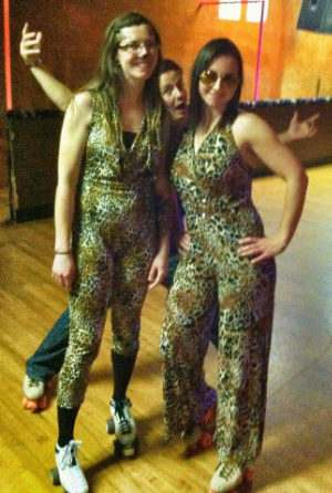 Last year's jungle themed party at the Wagon Wheel...