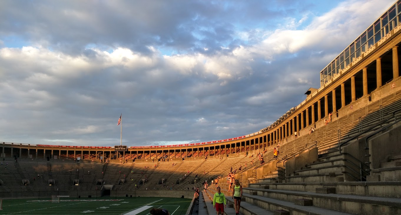 Harvard Stadium @ 6:30am