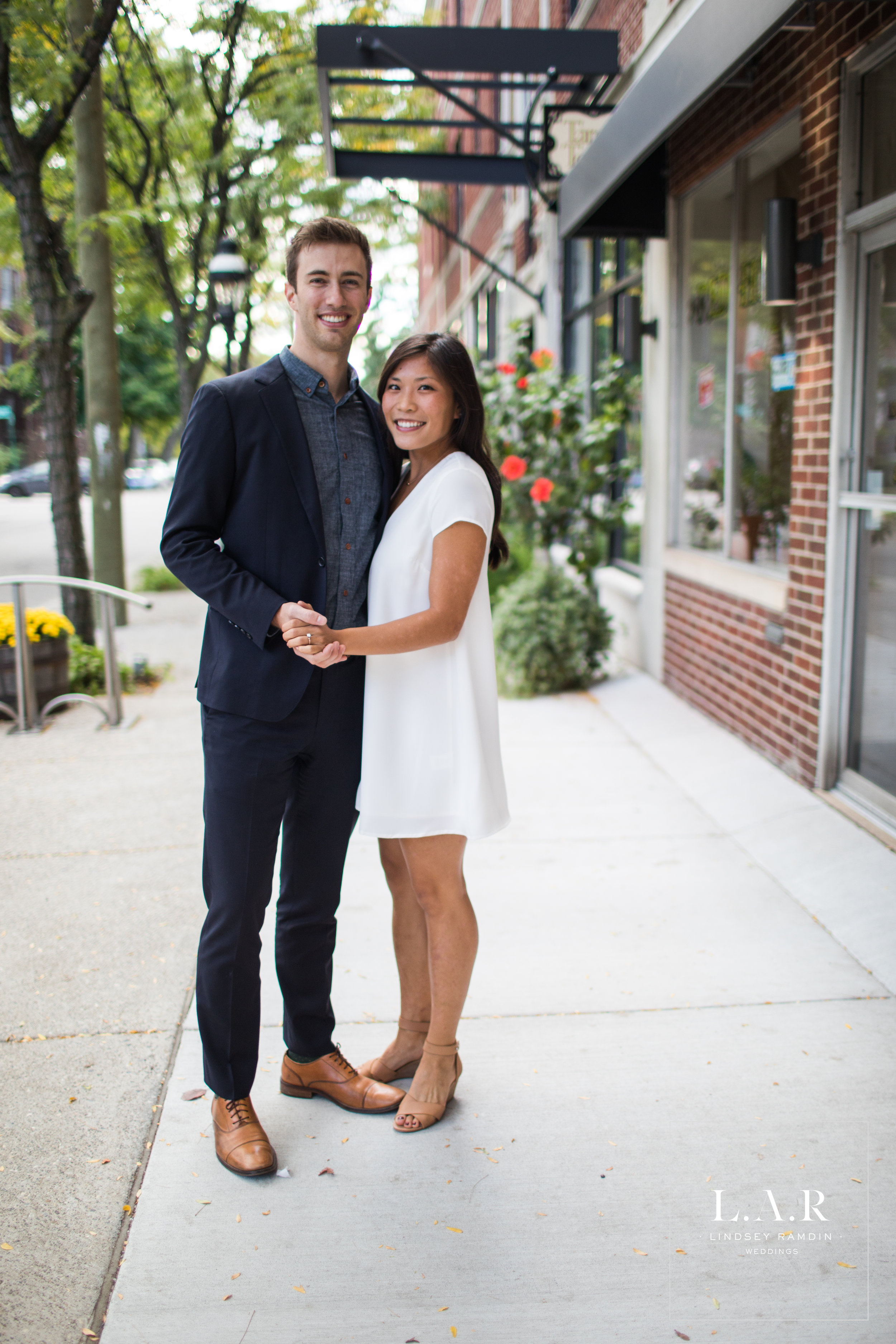 Detroit Engagement Photo | Agnes Street | L.A.R. Weddings