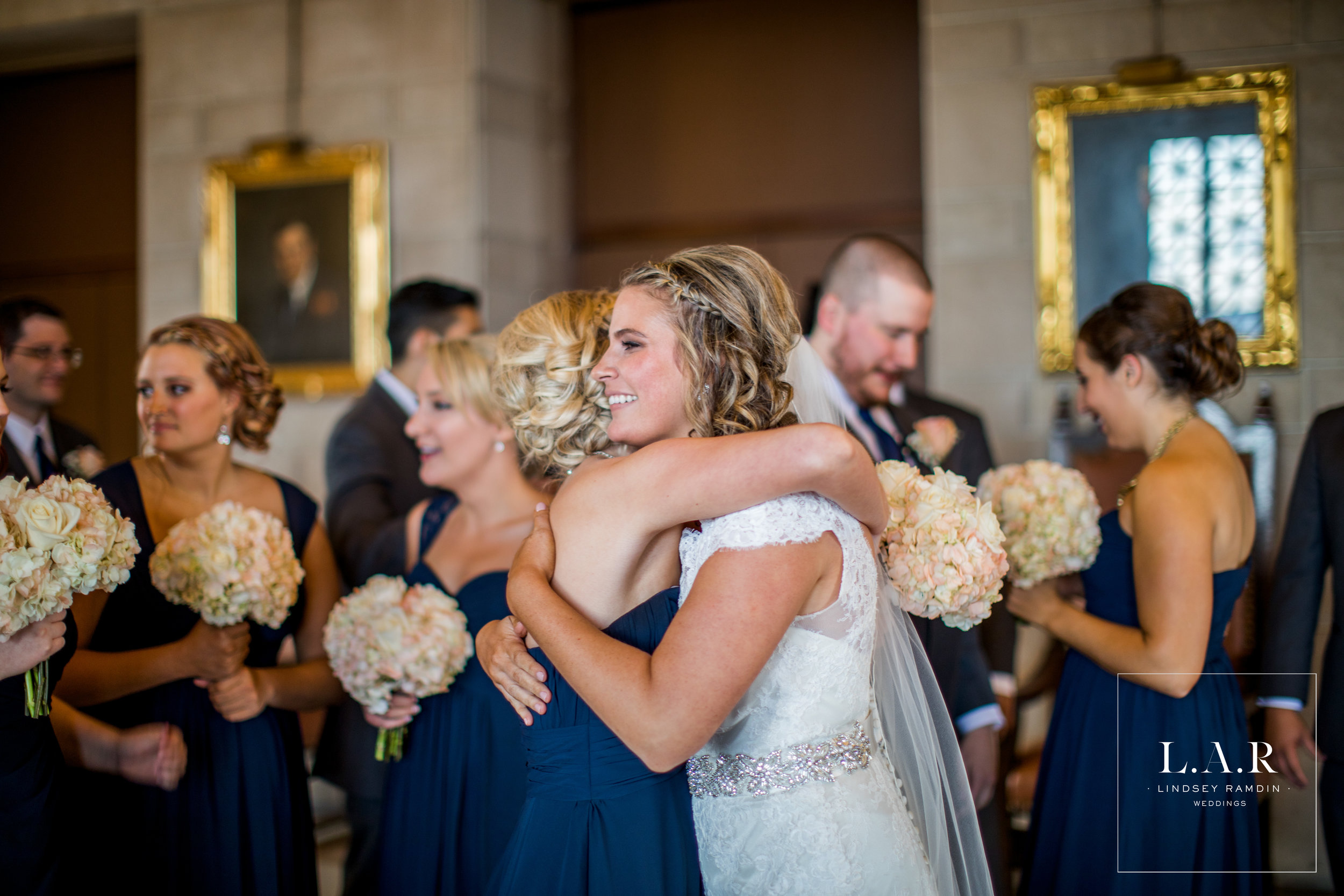 My favorite part of the day: these sweet moments right after the ceremony!