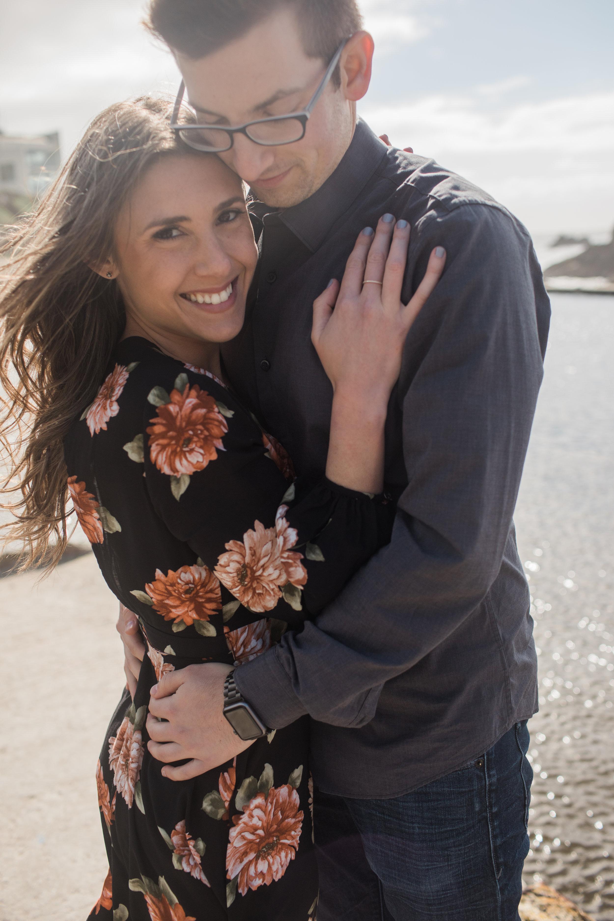 L.A.R. Weddings | Lindsey Ramdin | San Francisco Engagement Session