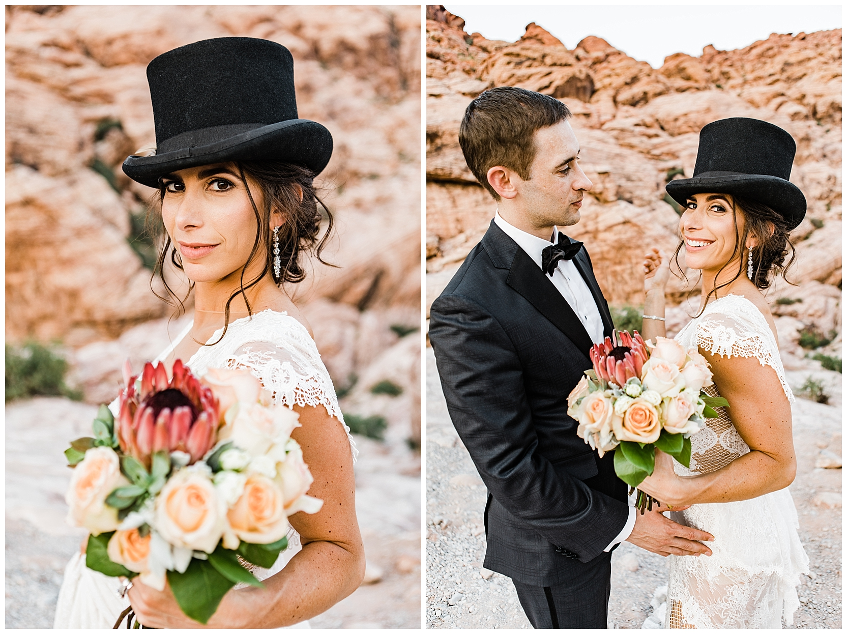 Las Vegas Elopement | Wedding Photos at Red Rock Canyon National Park| photo by Lindsey Ramdin, L.A.R. Weddings