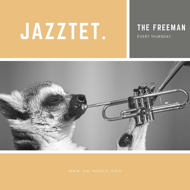 NM Jazztet at the Freeman in Deep Ellum-  Every Thursday at 10! #nmjazztet #thefreemancajuncafe