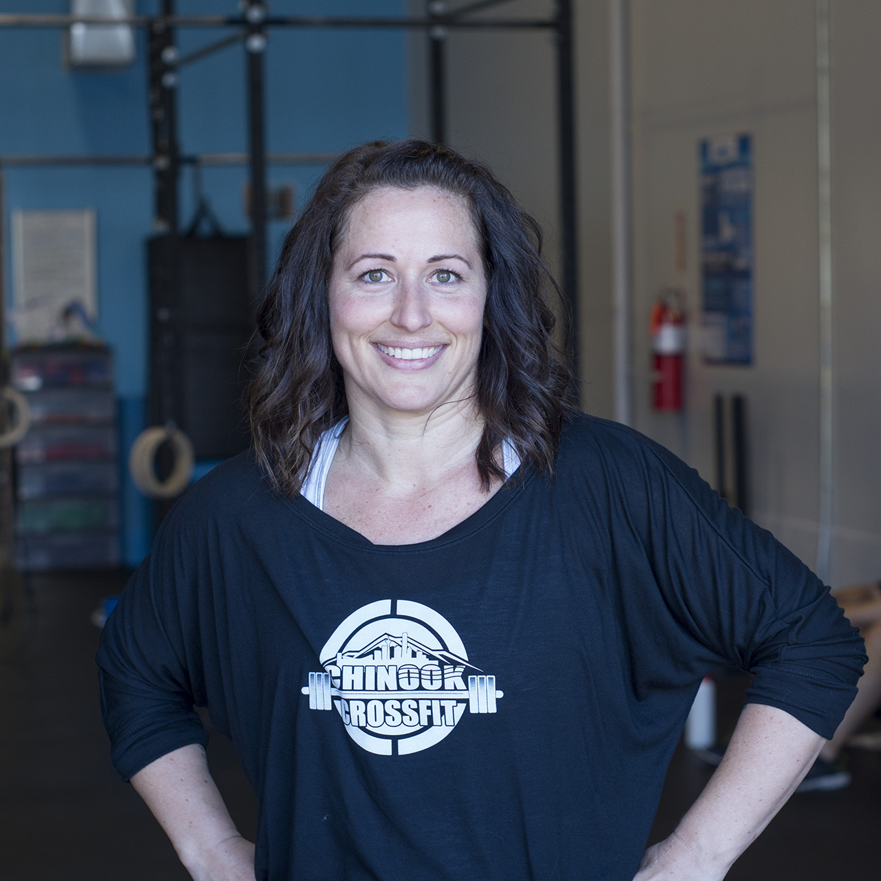 SHEREE LOGAN - COACHI have been a runner for 20 years. I wanted to get stronger overall, so I started seeing a trainer three times a week. This continued for 6 years, but eventually I got bored. After signing up for a Spartan race, I tried CrossFit to train for the race. The first workout immediately hooked me. The feeling of leaving everything on the floor is one I love. In 2 years of doing CrossFit I have seen more changes physically than I saw seeing a trainer for 6 years. I believe that it is the best overall fitness program for anyone. The sense of community at CrossFit is like nothing else and all of the members are so supportive of each other. The community is part of what helps athletes grow and stay motivated! My favorite movement to do and coach is back squat. Most people can back squat a good weight and that is very motivating for them!CrossFit Level 1 TrainerCrossFit Mobility CertificateCrossFit Gymnastics Certificate