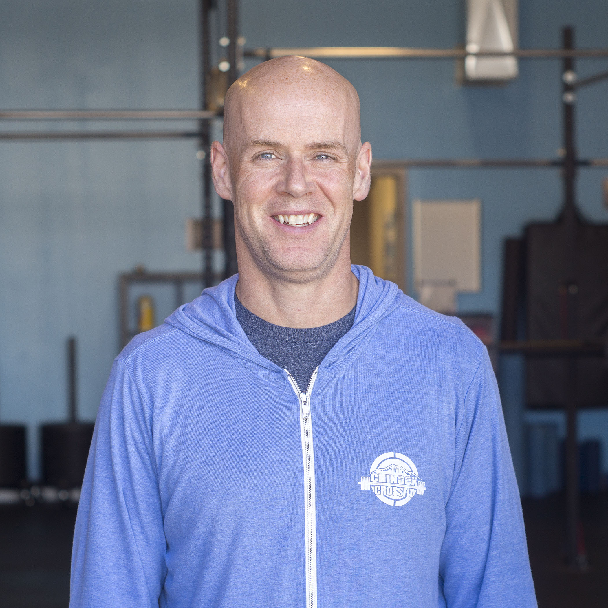 JAMES FOSTER - COACHMy CrossFit journey began four years ago when I attended my first class accompanied by my son. The original plan was to train along side him as he prepared for the upcoming hockey season. Aside from leaving the gym exhausted and slightly confused from the kipping pull ups the class was working on, I was hooked. My workout regime prior to CrossFit included weight training, running and P90X. While these activities were helpful, none of them could rival the CrossFit experience. I am in my mid-fourties and in the best shape of my life, 5 pounds lighter than I was at the age of 18 when I was heading off to training camp. I am a Physical Therapist and Advanced Level 1 Coaching Candidate (Hockey) with over twenty-five years of experience training, coaching, teaching and rehabilitating athletes. I spent two year as an Assistant Coach with the University of Lethbridge Pronghorns Mens' Varsity Hockey Team before returning to Calgary and coaching in the Blackfoot Minor Hockey Association for ten seasons. The metabolic conditioning (METCON) WODS are my favourite CrossFit activities.CrossFit Level 1 Trainer