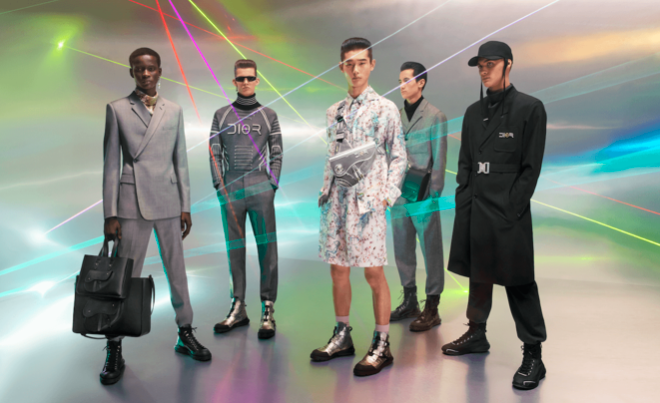 THE FUTURE IS NOW AS MENSWEAR DESIGNERS LOOK AT TOMORROW FOR INSPIRATION -