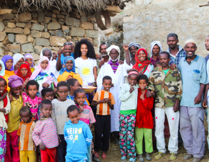 MODELS DOING MORE: GRACE MAHARY IS GIVING CLEAN ENERGY TO COMMUNITIES THAT NEED IT MOST -