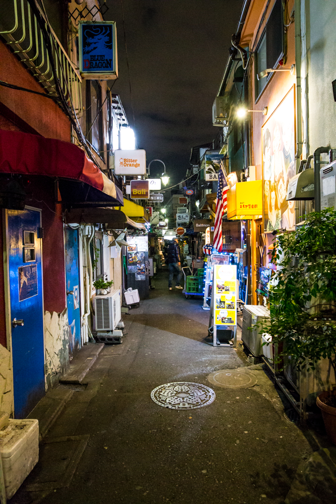 Shinjuku Golden Gai area, well worth the eye opening visit
