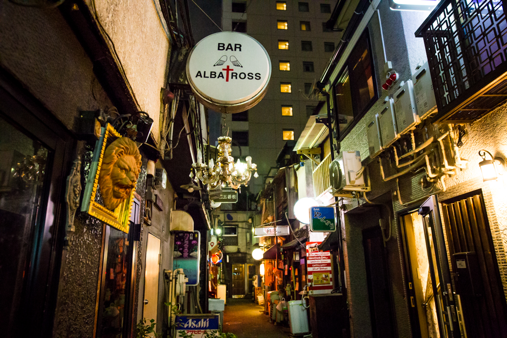 The Golden Gai area feels like a movie set. The bars are so small they only fit 3-5 people