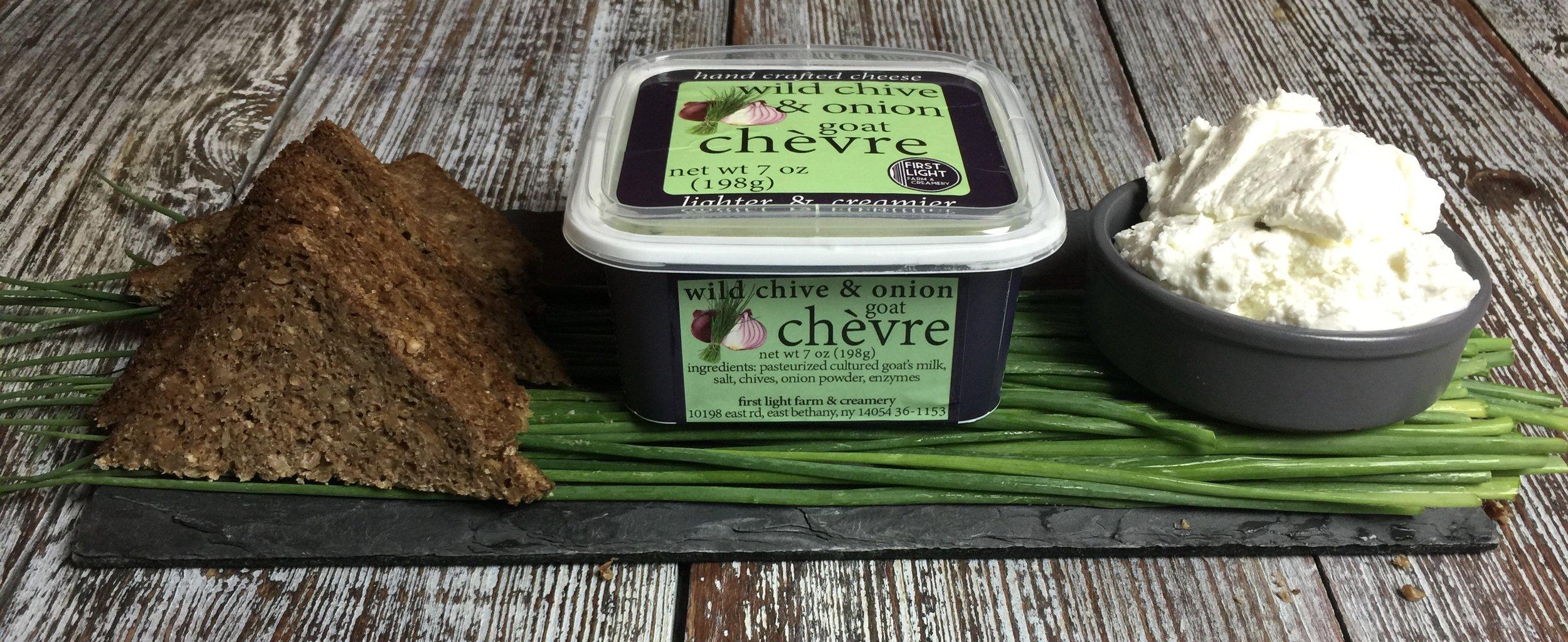 Wild Chive & Onion Chevre debuts!