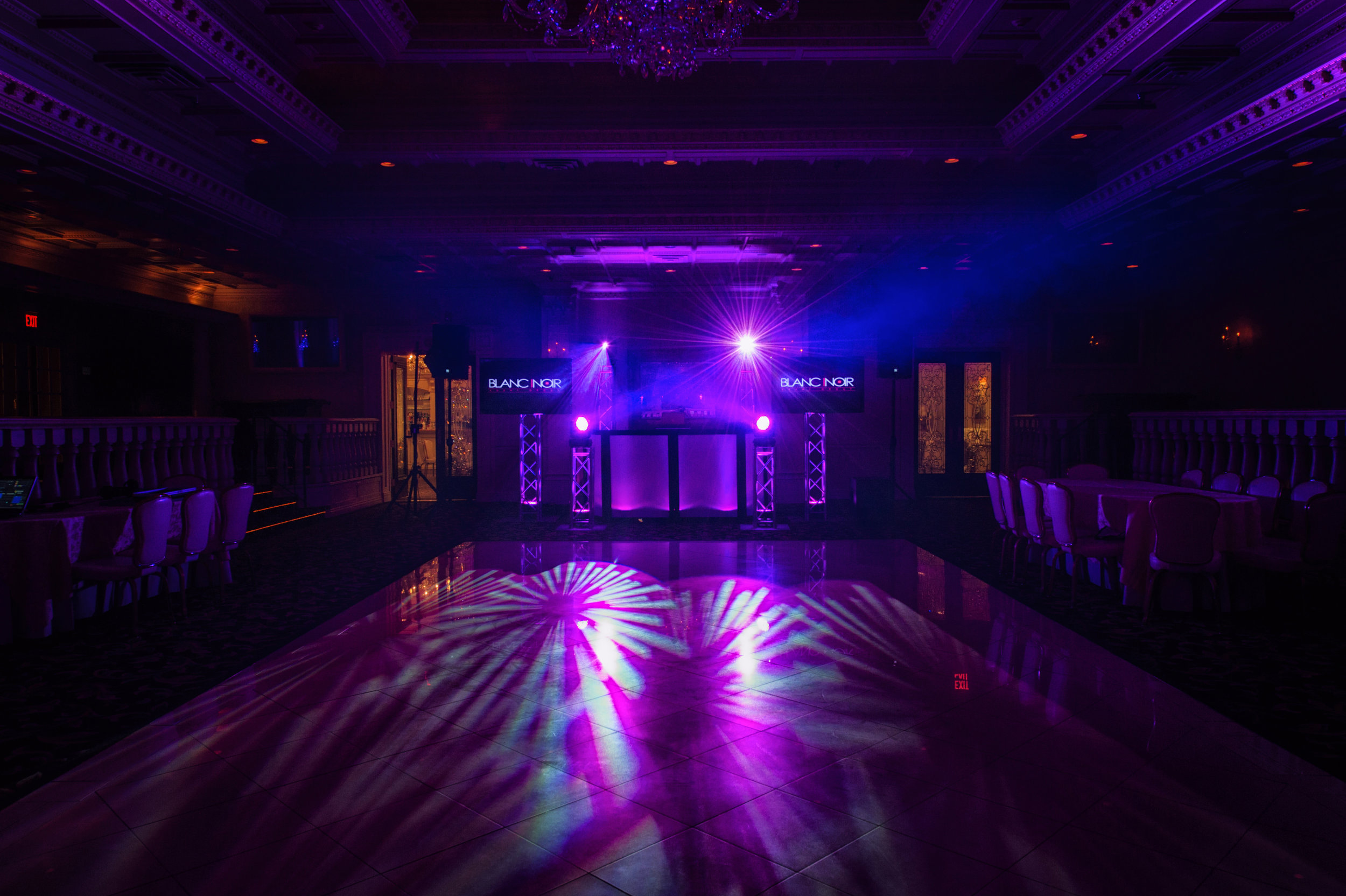 Sweet 16 Lighting Design by Blanc Noir Event Group