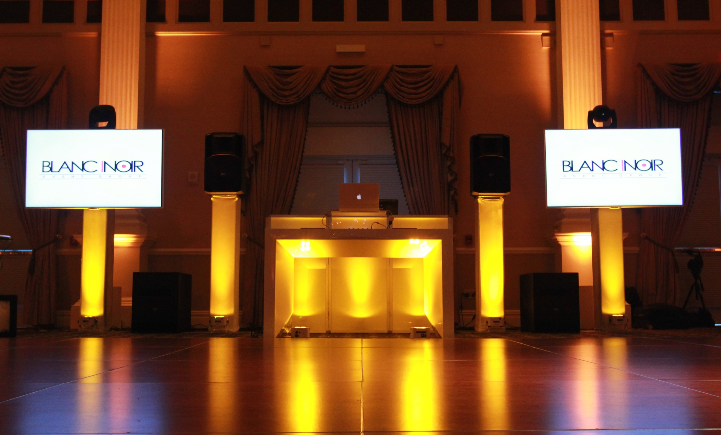 Customized Multimedia packages by Blanc Noir Event Group