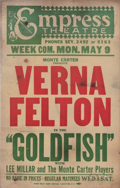 1927 Vancouver play