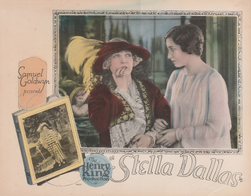 "Lobby Card for Silent Film ""Stella Dallas"""