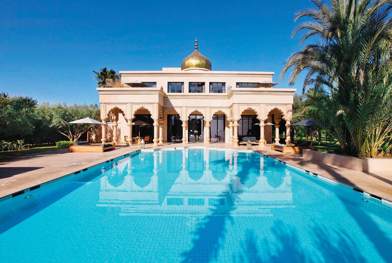 The Mountain Palace, Pal  ais Namaskar, Marrakesh,   Morocco