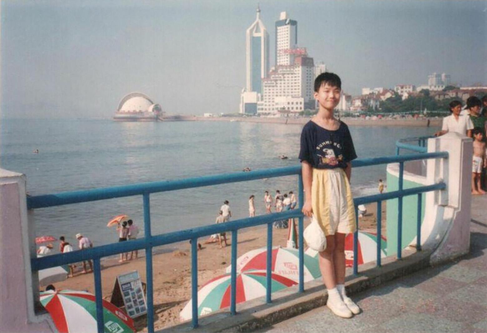 Childhood photo of Peter