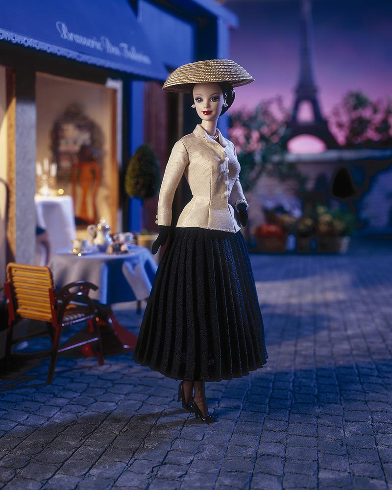 15. In 1997, Barbie paid homage to  Christian Dior's iconic Bar Suit for its 50th anniversary