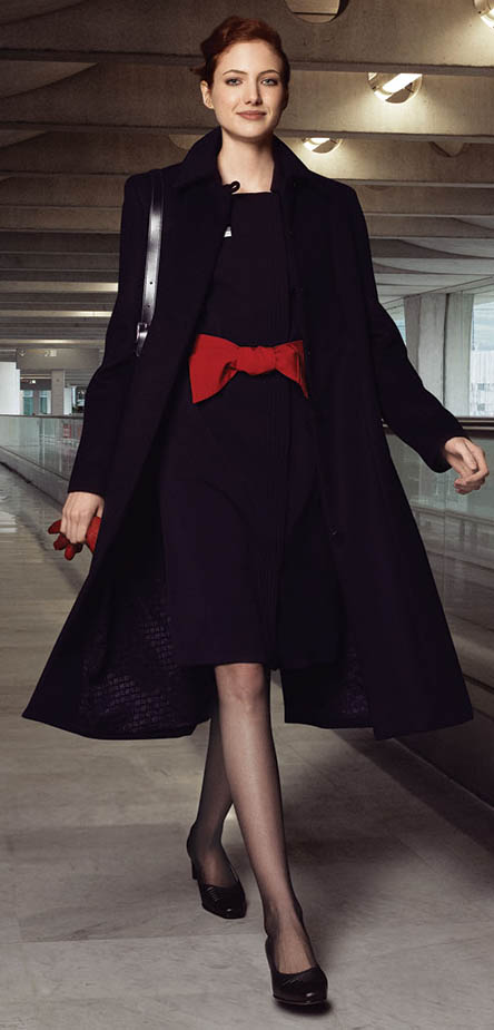 Today's striking Air France uniform by Christian Lacroix