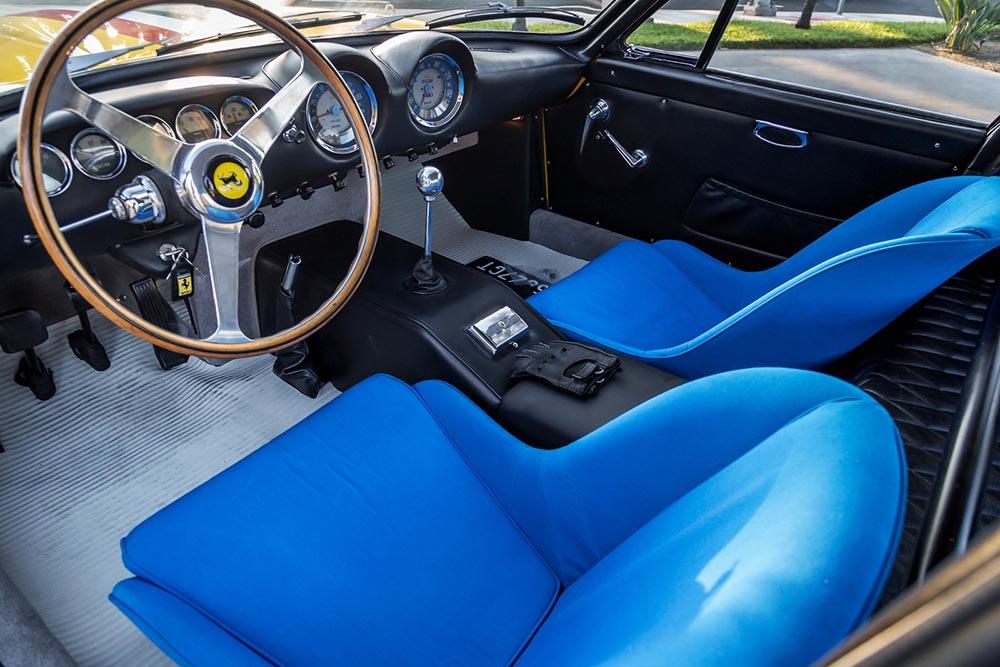 Interior of Ferrari 250 Lusso Competizione