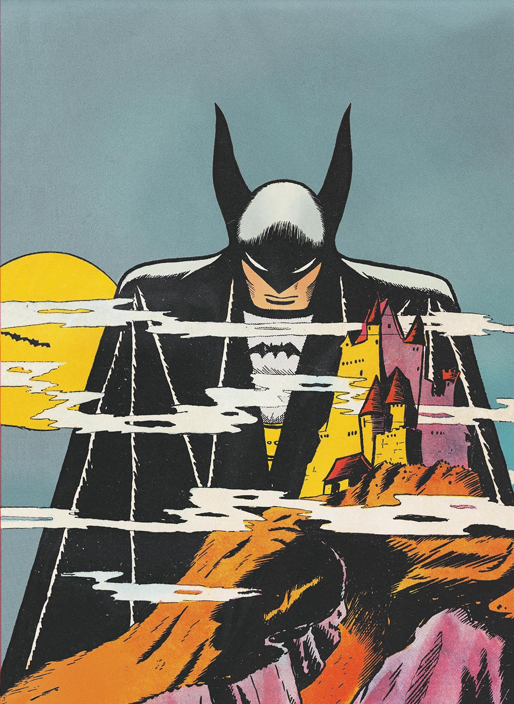 Detective Comics No. 31 cover art by Bob Kane, September 1939