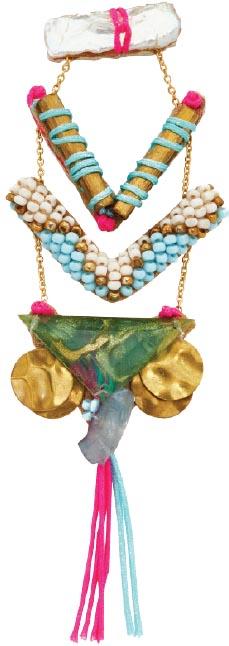 Lavina earrings, Deepa Gurnani<br> (deepagurnani.com)
