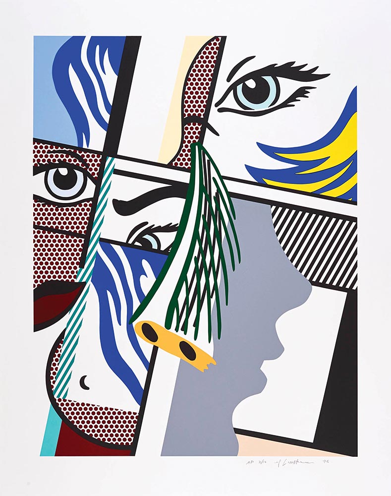 Modern Art II ( 1996) by Roy Lichtenstein