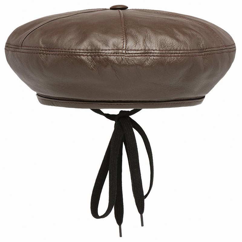 Opaque nappa leather hat, Prada