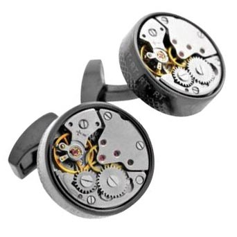 Signature vintage skeleton cufflinks, <br>Tateossian