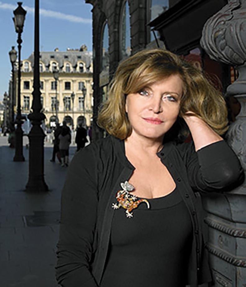 Designer Lydia Courteille