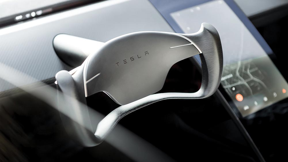 Behind the wheel of the Tesla Roadster