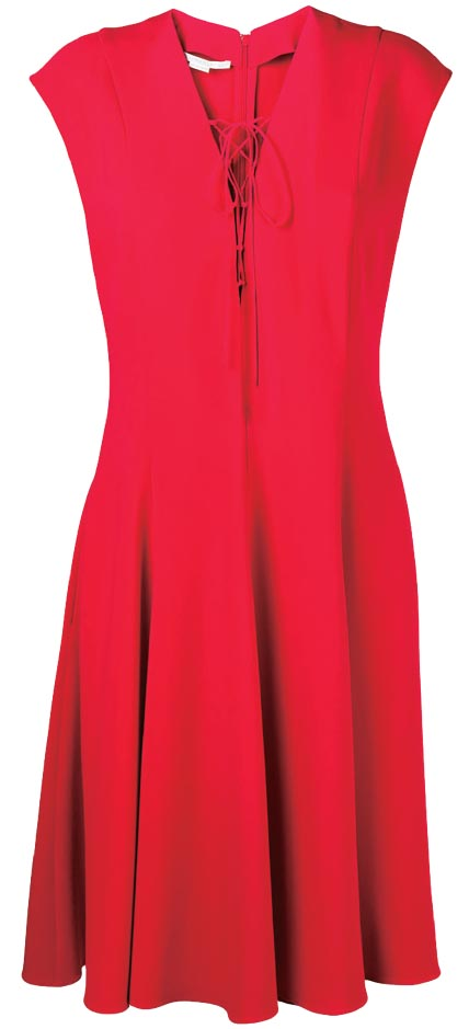 Lace-up dress, Stella McCartney