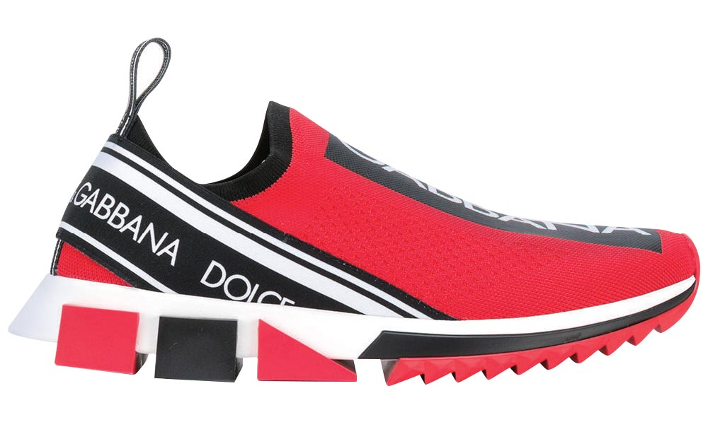Slip-on logo sneaker, Dolce & Gabbana
